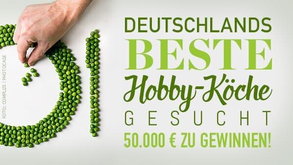 """Jetzt für das TV-Format ,,Deutschlands BESTE Hobby-Köche gesucht"""" bewerben!"""